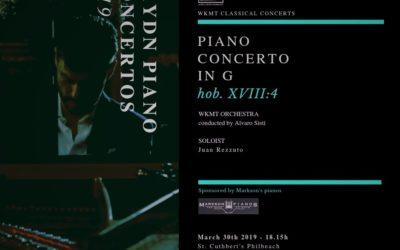Joseph Haydn Piano Concerto in G
